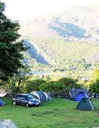 Llanberis Campsite ideal for walking Snowdon