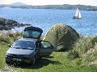 Clifden eco Camping Actons Eco Beach Campsite and Caravan Park