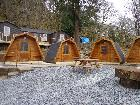 Bryn Dinas Camping Pods at Red Dragon Holidays